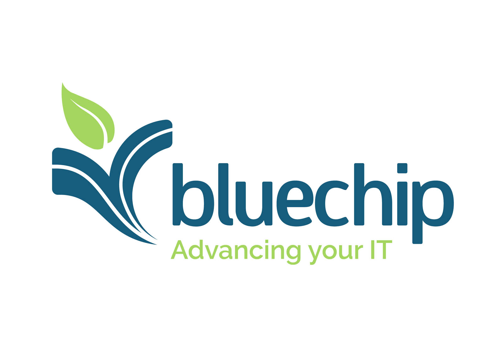 bluechip logo 2019 with strapline